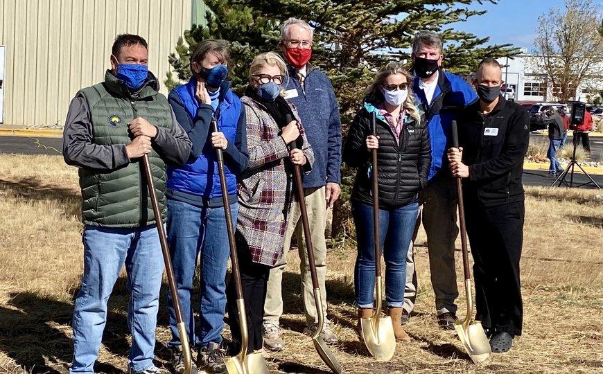 Laramie Ice and Events Center Solar Installation Groundbreaking