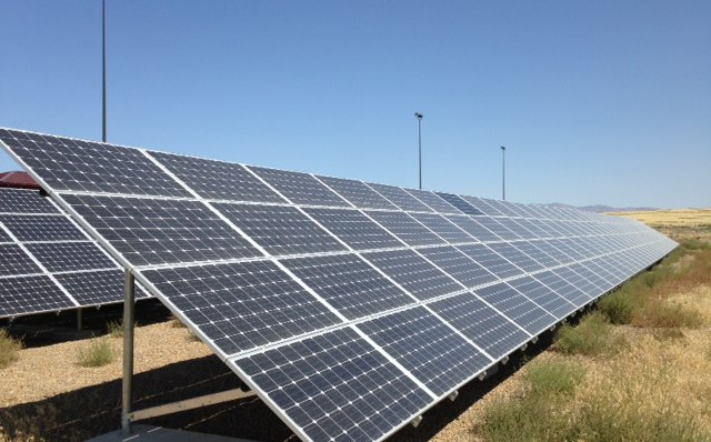 Idaho Commercial Solar Array Installation by Creative Energies